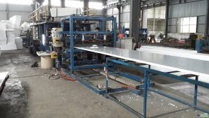 Steel structure plant production equipment