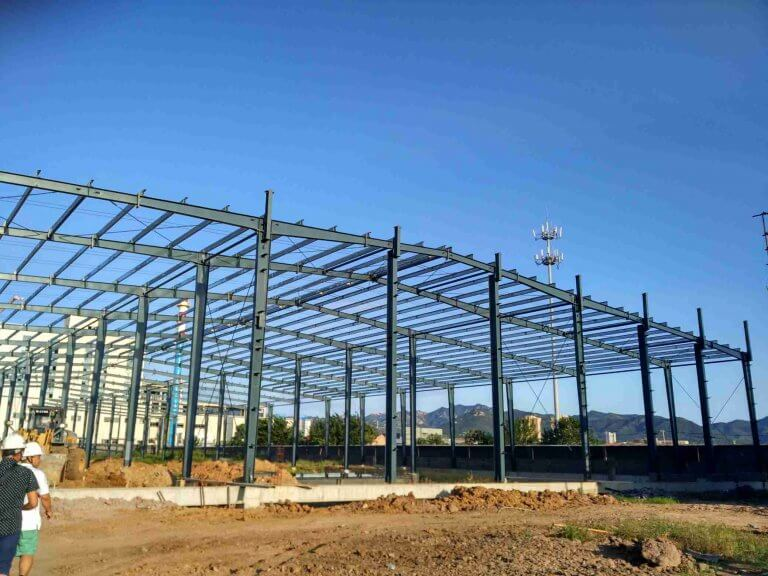 waterproof steel structure workshop -Prefabricated Steel Structure Workshop&kafa