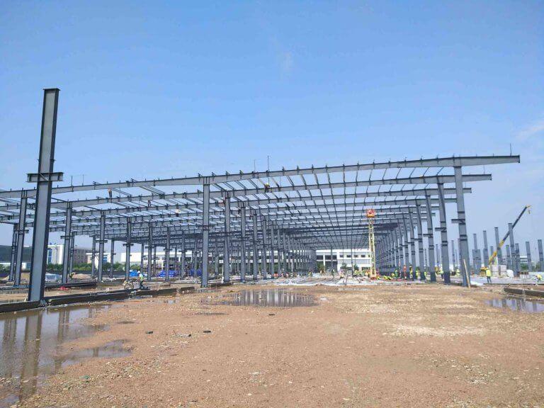 Prefabricated Workshop Building for sale-kafa