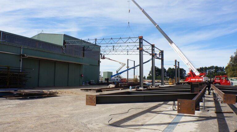 Heavy Steel Structure Workshop&kafa