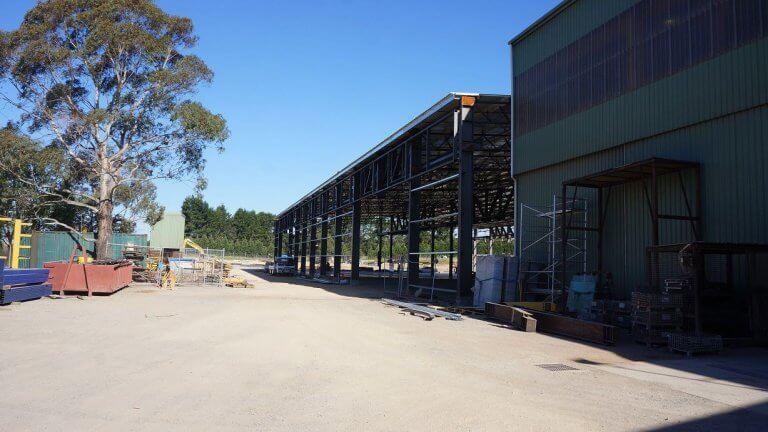 Australia Heavy Steel Structure Workshop