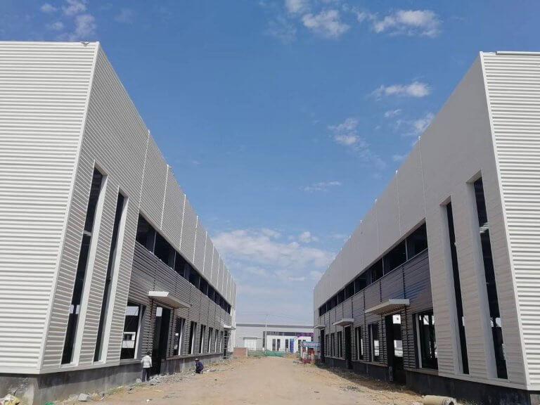 prefab workshop buildings-Prefab Steel Workshop Building Kits