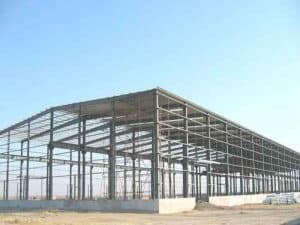 Prefabricated Metal Frame Warehouse
