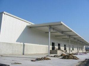 warehousePrefabricated steel warehouse