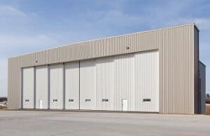 Prefabricate steel structure hangar for sale