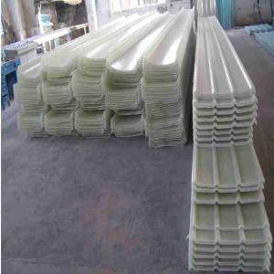FRP light panels for steel workshops