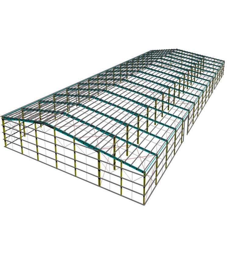 30 X 60 Steel structure building for sale