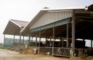 Examples of agricultural buildings