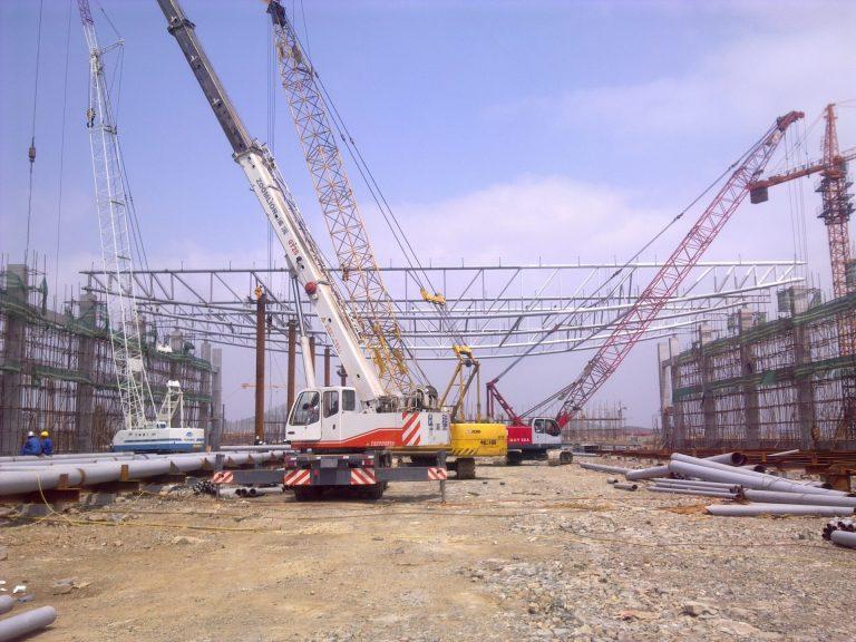 Steel frame structures