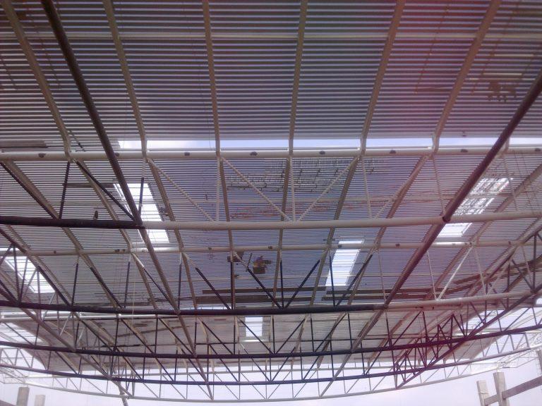 Steel frame structures for sale