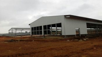 Angola Prefab Steel Structure Warehouse Shed&kafa