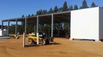 Australia Galvanized Steel Structure Warehouse Shed&kafa