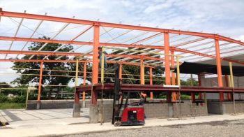 Samoa Steel Structure Shed&Kafa