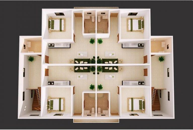 40x60 metal building with loft living quarters for sale-kafa