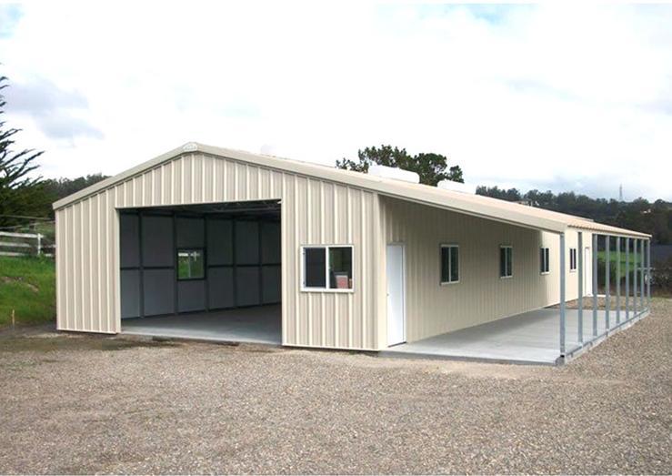 40 X 60 Metal Shop Building With Living Area for sale -KAFA steel
