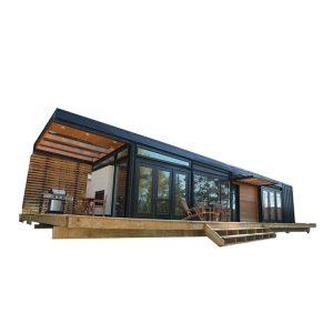 Steel living prefabricated houses for slae