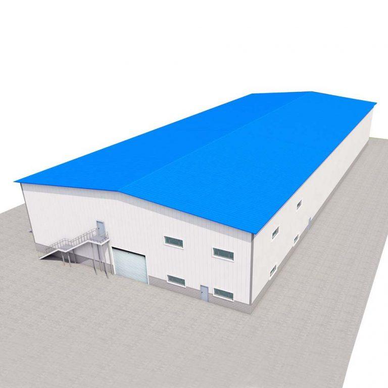 Prefab Workshop Building Steel Structure Warehouse