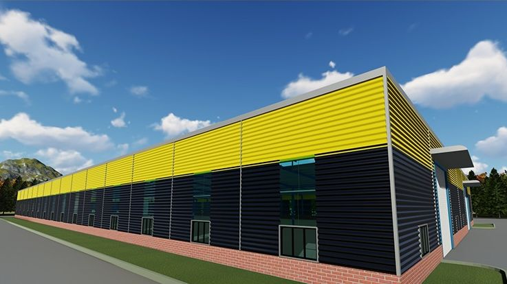 Steel Structure Warehouse for sale-Steel Warehouse